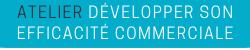 """Bouton d'accès à la page de description de la formation Atelier Kledy """"Développer son Efficacité Commerciale"""""""